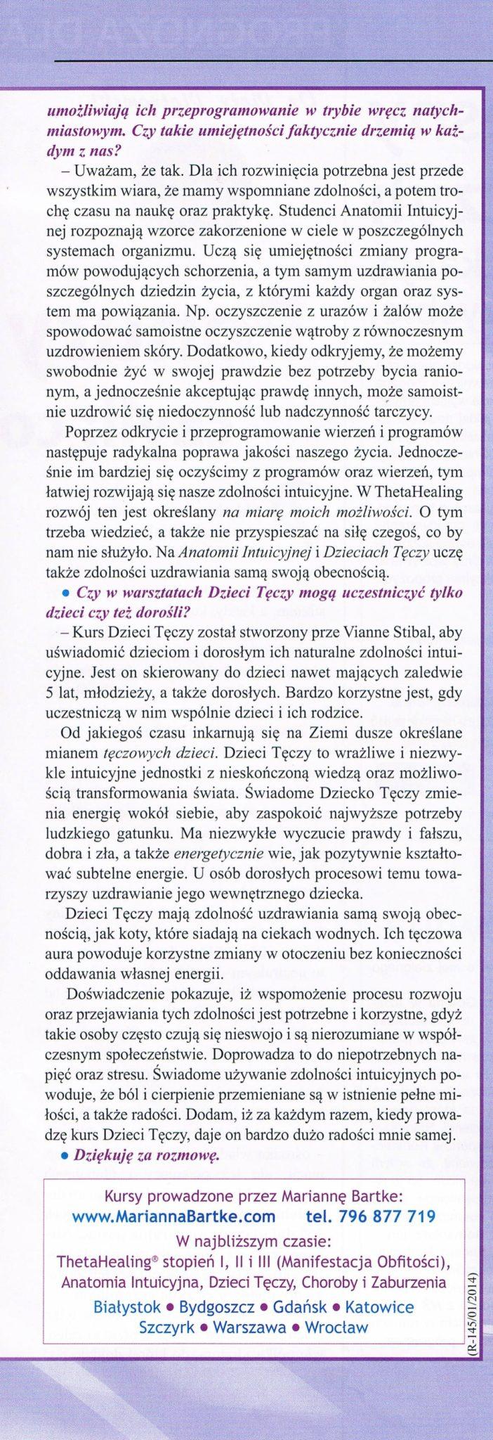 Nieznany Świat - O ThetaHealing, Dzieciach Tęczy i zdolnościach intuicyjnych. cz.2